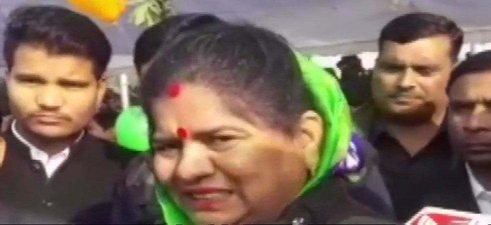 Imarti Devi in her affidavit submitted for the 2018 state Assembly poll had stated that she had cleared her Higher Secondary Examination. (Image Credit: ANI)