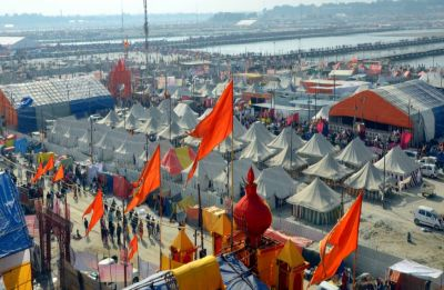Tension in Kumbh Mela after Prayagraj Police arrests serial killer with blood-soaked axe