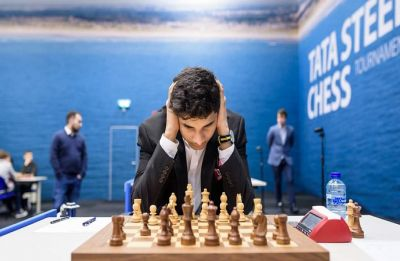 Tata Steel Chess: Vidit Gujrathi surges, Anish Giri joins Magnus Carlsen in lead