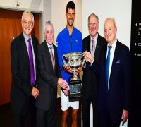 Novak Djokovic's picture with these tennis legends following Australian Open win sets social media alight
