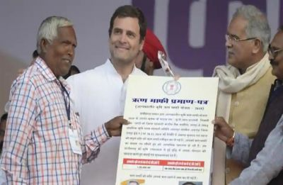 Rahul Gandhi addresses farmers' meet in Chhattisgarh, says promised loan waiver and delivered on it