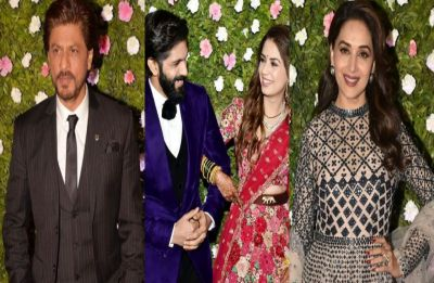 Shah Rukh Khan, Aamir Khan, Madhuri Dixit and others attend Amit Thackeray's wedding reception