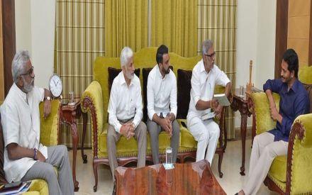 NTR's grandson, Hitesh Chenchuram, all set to join Jagan