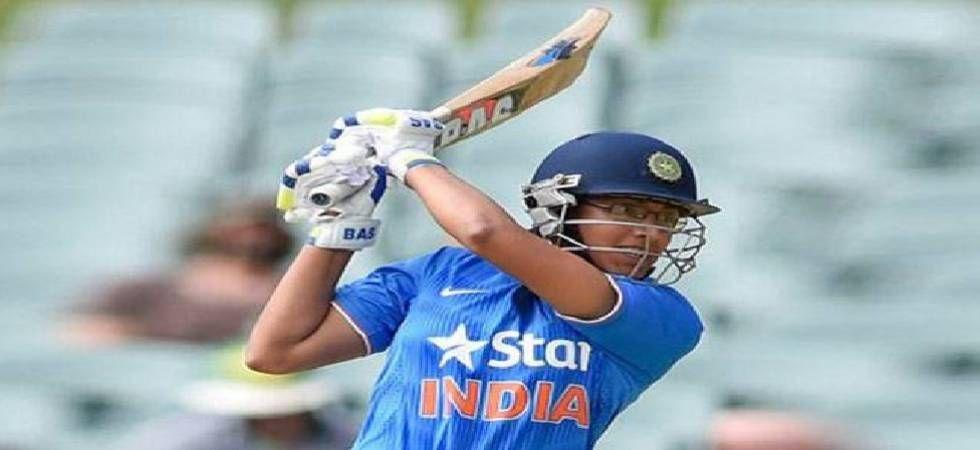 Smriti Mandhana was awarded player of the match award for her unbeaten 90-run innings.