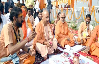 On banks of Sangam, Yogi Adityanath holds first-ever Uttar Pradesh Cabinet meet in Kumbh Mela