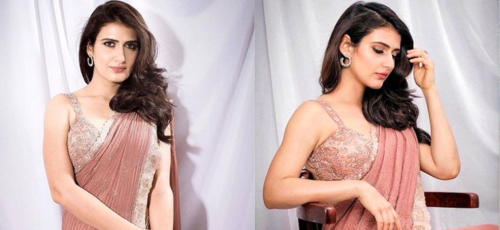 Fans are excited to see the actress donning a saree on screen for the first time.