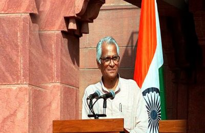 Named after King George V, George Fernandes studied to become Roman Catholic priest