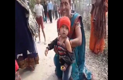 Assam security personnel makes 3-year-old take off jacket, video goes viral
