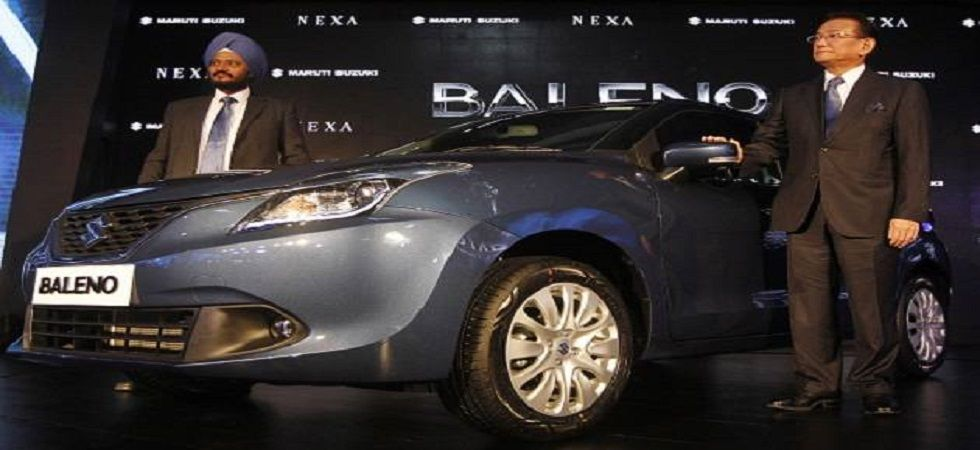 Baleno to be sold under Toyota's badge from second half of 2019 (file photo)
