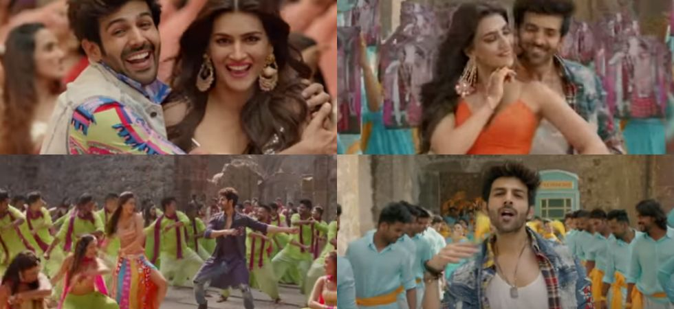 The makers of Luka Chuppi released the first song titled Poster Lagwa Do./ Image: YouTube