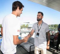 Wow, he remembers me – Virat Kohli on meeting Roger Federer in Australian Open