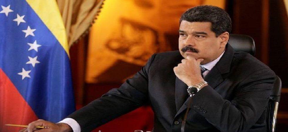 Nicolas Maduro accused an