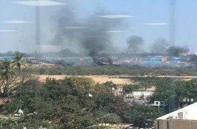 WATCH   Mirage fighter aircraft crash in Bengaluru, 2 pilots dead