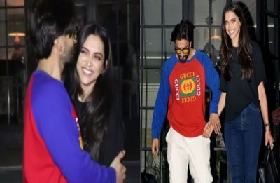 WATCH: Ranveer Singh kissing Deepika Padukone after dinner date is the most romantic thing you'll see today
