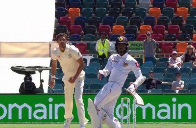 Canberra Test between Australia and Sri Lanka witnesses rarest mode of dismissal