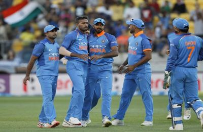India hold nerve in Wellington ODI, clinch series 4-1 with tough win
