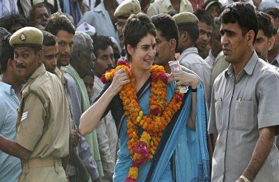 Congress women wing to lodge FIR over sexist remarks against Priyanka Gandhi Vadra on social media