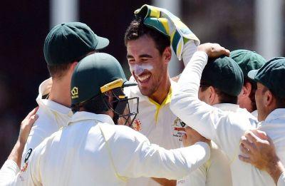Mitchell Starc fifer, Usman Khawaja ton boost Australia vs Sri Lanka