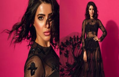 Samantha Akkineni raises temperature in black sheer gown and we can't take our eyes off her