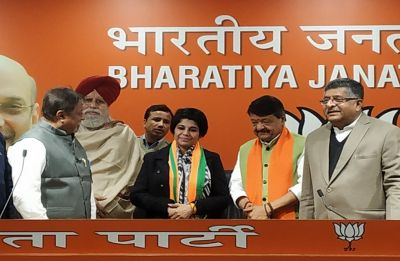 Former IPS officer of West Bengal Bharati Ghosh joins BJP