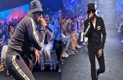 Lakme Fashion Week: Ranveer Singh takes over the ramp with his live rap performance, see pictures