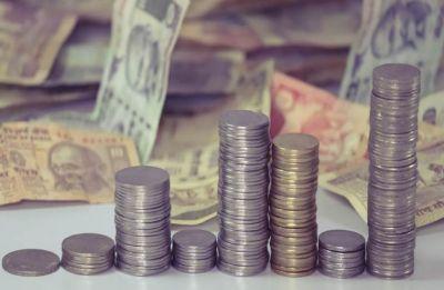 Rupee slumps 55 paise to 71.80 against US dollar