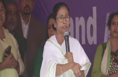 This is what Chief Minister Mamata Banerjee said on News Nation's question on dharna