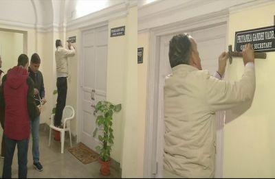 Priyanka Gandhi's nameplate at Congress Headquarters mark party's new beginning