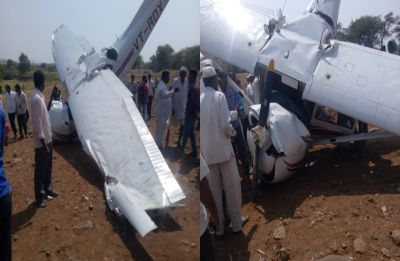 Pilot injured after aircraft of private training institute crashes near Pune