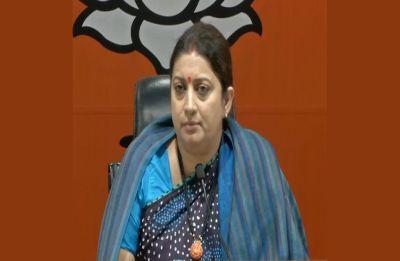 Mamata vs Centre: Supreme Court has stopped Didi's 'dadagiri', says Smriti Irani