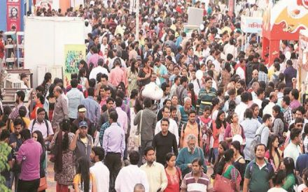Online library stall in Kolkata Book Fair lets you download