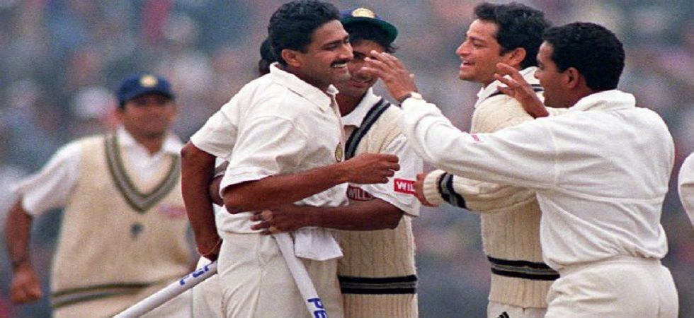 Anil Kumble became only the second bowler in Test history to take the perfect 10 during the Pakistan Test in New Delhi on this day 20 years ago