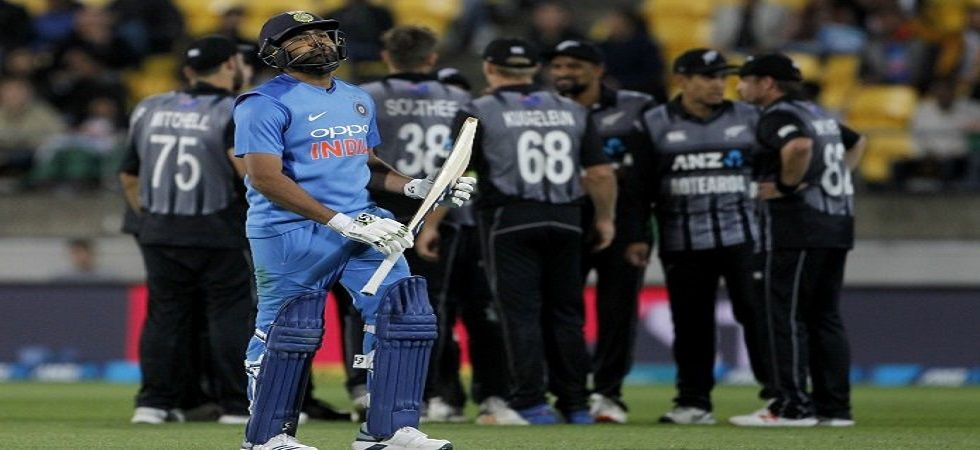 Rohit Sharma's Indian cricket team must win in Auckland if they have to stay alive in the series. (Image credit: Twitter)