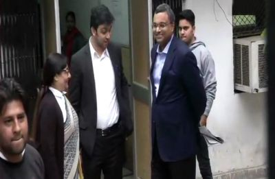INX Media case: Karti Chidambaram reaches ED office