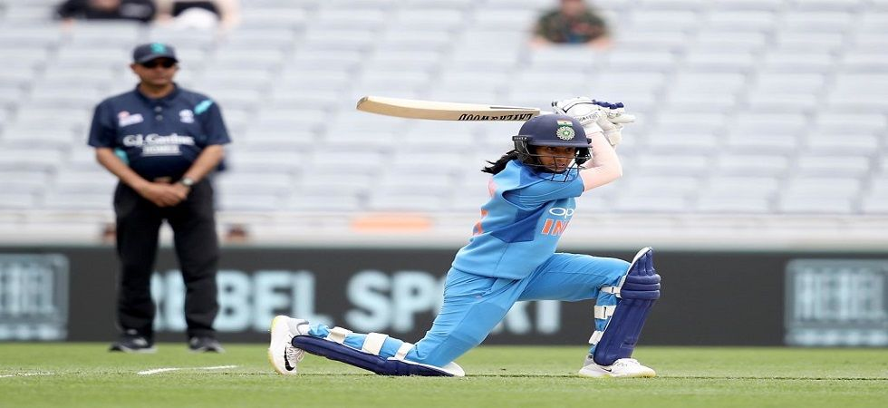 Jemimah Rodrigues' fifty went in vain as India lost the Auckland T20I by four wickets. (Image credit: ICC Twitter)