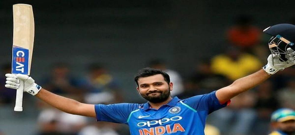Rohit Sharma's brilliant fifty helped India register a T20I win in New Zealand for the first time ever. (Image credit: Twitter)