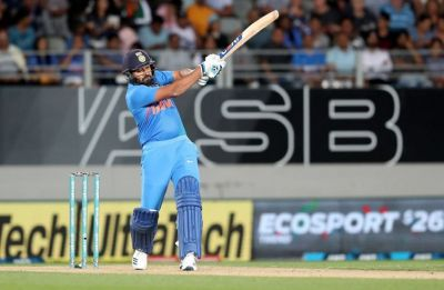 Rohit Sharma helps India break the Twenty20 jinx in New Zealand with record knock