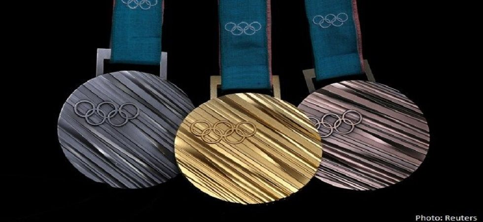 Tokyo's 2020 Olympics will see all medals made from recycled electronic waste from old laptops and mobiles. (Image credit: Twitter)