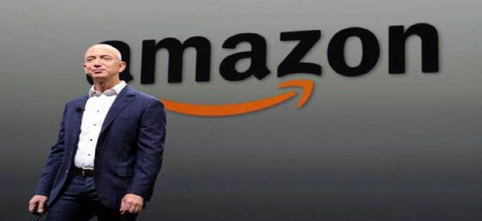 Bezos, his newspaper, The Washington  Post, and Amazon are all regular targets of Trump's signature Twitter tirades. (File photo)