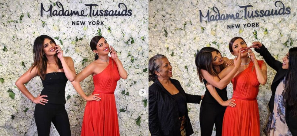 Priyanka Chopra gets a wax statue in New York./ Image: Instagram