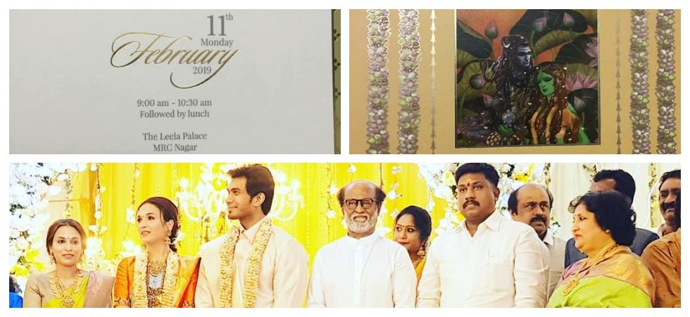 Soundarya & Vishagan Pre-wedding Reception held in a grand manner