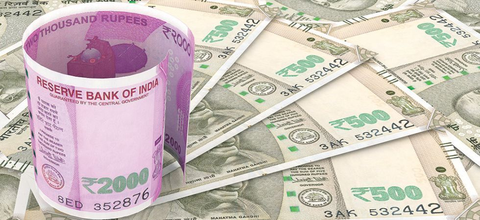 The rupee Thursday appreciated by 11 paise to close at 71.45 against the US dollar. (File photo)