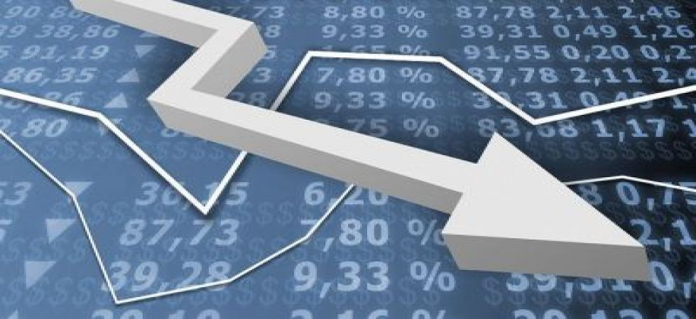 The 30-share index was trading 140.62 points, or 0.38 per cent, lower at 36,830.47.  (File photo)