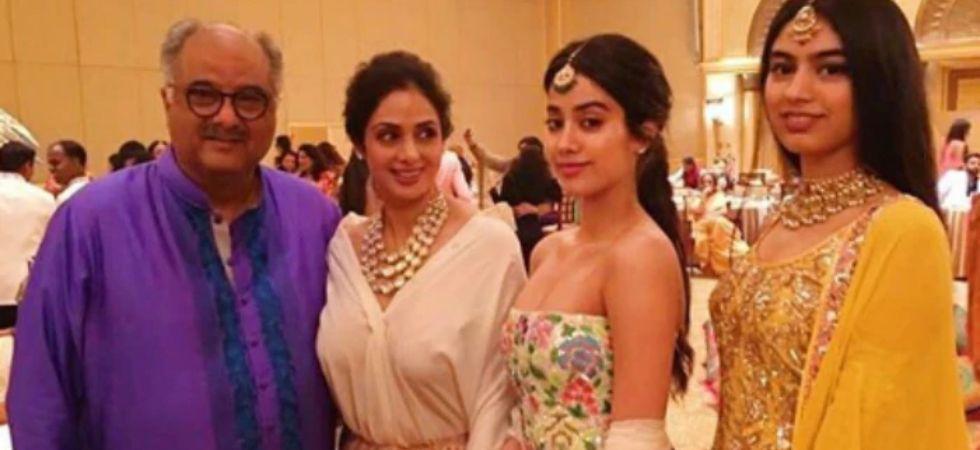 Boney Kapoor, Janhvi and Khushi to hold Pooja for late actress Sridevi on Feb 14./ Image: Instagram