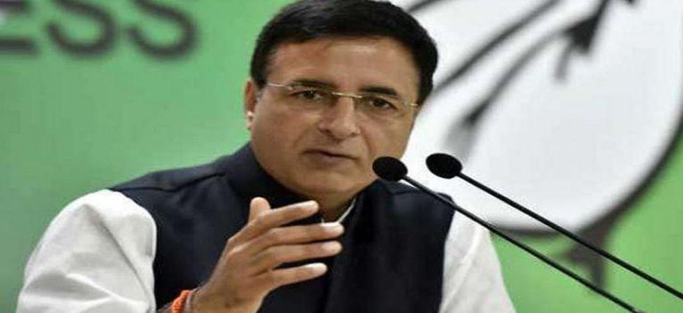 Randeep Surjewala will address the press conference. (File Photo)