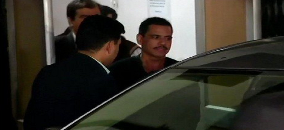 For the third consecutive day, Robert Vadra was questioned by the Enforcement Directorate (ED) on Saturday. (ANI/Twitter)