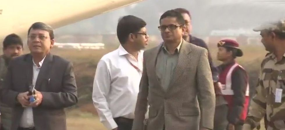 Rajeev Kumar is staying in a private guest house and is not allowed to meet anyone. (Image Credit: ANI)