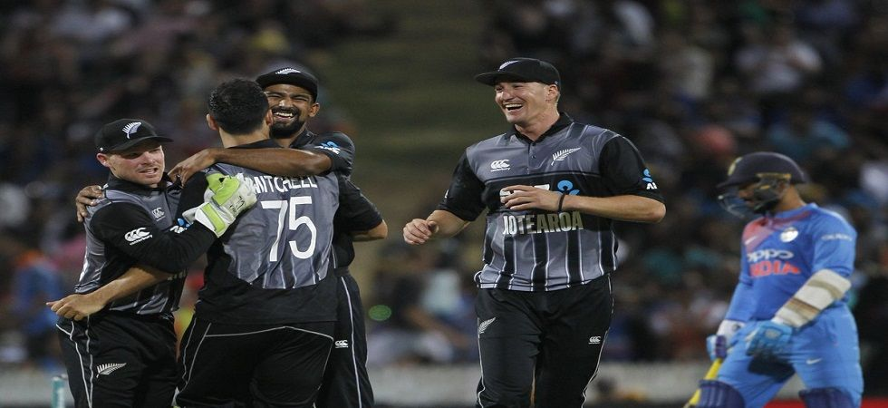 New Zealand earned redemption by winning the three-match Twenty20 International series 2-1 against India with a four-run win in Hamilton. (Image credit: Twitter)
