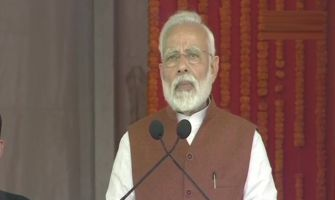 Chandrababu Naidu shattered dreams of NTR by allying with Congress, says PM Modi