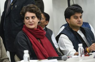 Priyanka Gandhi Vadra, Jyotiraditya Scindia to visit Lucknow today, issue audio messages